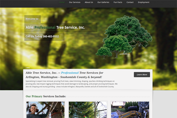 Services - Able Tree Service