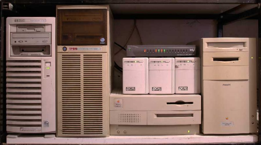 How to build a Linux Web Server with an old computer